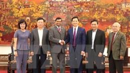 Lãnh đạo Sri Lanka tìm hiểu cơ hội đầu tư tại tỉnh Bắc Ninh