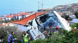 Tai nạn xe buýt tại Bồ Đào Nha: Số người chết tiếp tục tăng