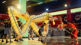 Liên hoan múa Rồng Hà Nội 2019 tại không gian đi bộ hồ Hoàn Kiếm