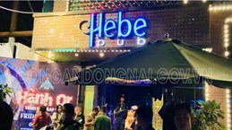 Đồng Nai: Xử lý 24 đối tượng dương tính với ma túy tụ tập ở quán bar