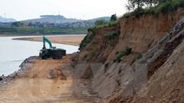 Tuyên Quang: Khắc phục khẩn cấp tình trạng sạt lở bờ sông Lô