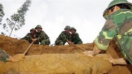 Phối hợp khảo sát khắc phục hậu quả bom, mìn, vật liệu nổ ở Lạng Sơn
