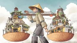 Tranh vẽ gánh hàng rong Hà Nội giành giải nhất cuộc thi ''Hà Nội là''