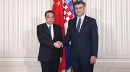 Thủ tướng Trung Quốc thăm Croatia, ký nhiều thỏa thuận hợp tác