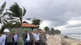 Phó Thủ tướng kiểm tra công tác phòng, chống bão số 9 tại Quảng Nam