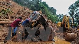 Mưa lớn gây sạt lở đất tại Ấn Độ, ít nhất 15 người thiệt mạng