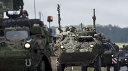 NATO bắt đầu cuộc tập trận quân sự đa quốc gia tại Latvia