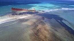 Tàu chở hàng của Nhật Bản tràn dầu sau nhiều ngày mắc kẹt ở Mauritius