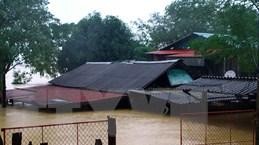 [Photo] Hà Tĩnh, Nghệ An ngập chìm trong biển nước do mưa lớn