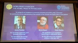 Giải Nobel Vật lý 2019 được trao cho nghiên cứu liên quan đến Vũ trụ