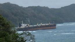 Tàu chở dầu mắc kẹt gần đảo san hô lớn nhất thế giới Rennell