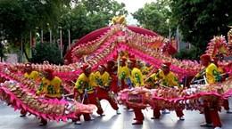 [Photo] Liên hoan múa rồng Hà Nội kỷ niệm 60 năm Giải phóng Thủ đô