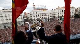 'Biển người' chào đón nhà vô địch Champions League Real Madrid