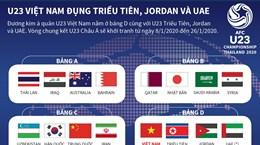 U23 Việt Nam đụng Triều Tiên, Jordan và UAE tại VCK U23 châu Á