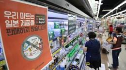 Ngày càng nhiều người dân Hàn Quốc tẩy chay hàng Nhật Bản