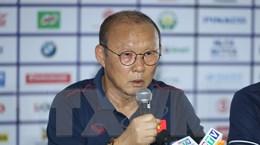 HLV Park Hang-seo hài lòng với phương án sử dụng 2 tiền đạo
