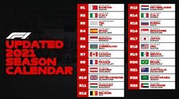 F1 lại hoãn đua tại Trung Quốc và Australia do dịch bệnh