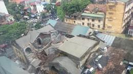 Hà Nội: Báo động nguy cơ đổ sụp hàng chục khu nhà cổ