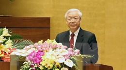 Diễn văn của Tổng bí thư tại Lễ kỷ niệm 70 năm Quốc hội Việt Nam