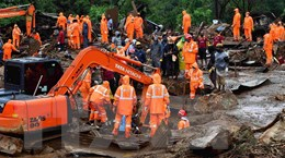 Lở đất tại Ấn Độ, hàng chục người thiệt mạng và mất tích