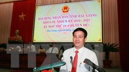Tỉnh Hậu Giang bầu tân Chủ tịch Hội đồng nhân dân và Ủy ban nhân dân