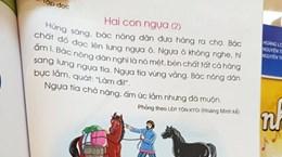 """[Video] Sách giáo khoa Tiếng Việt lớp 1: Cánh Diều không còn """"hí hóp"""""""
