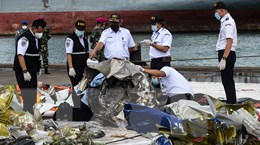 Indonesia sẽ công bố báo cáo sơ bộ về vụ tai nạn máy bay vào tháng 2