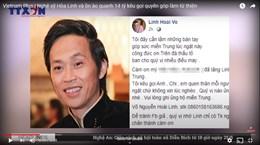 Nghệ sỹ Hoài Linh và ồn ào quanh 14 tỷ kêu gọi quyên góp làm từ thiện