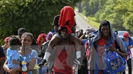 Quan ngại về tình cảnh người di cư trên hành trình tới Mỹ
