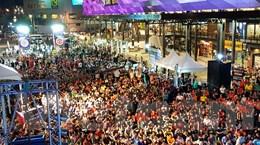 Người Thái háo hức xem trận cầu Manchester United-Leicester City