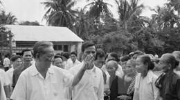 Về thăm căn cứ địa cách mạng Xứ ủy Nam Bộ, nhớ đồng chí Lê Duẩn