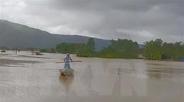 Mưa lũ tại Bình Định làm 6 người chết, hơn 10.000 ngôi nhà bị ngập