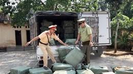 Lạng Sơn: Bắt giữ trên 2 tấn nầm lợn nhập lậu từ Trung Quốc