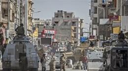 Quân đội Ai Cập tiêu diệt 10 phần tử khủng bố ở Bắc Sinai