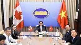 Việt Nam-Canada tiến hành tham khảo chính trị cấp Thứ trưởng