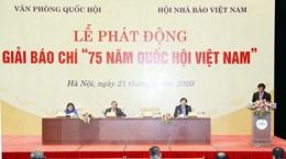 Chính thức phát động giải báo chí '75 năm Quốc hội Việt Nam'