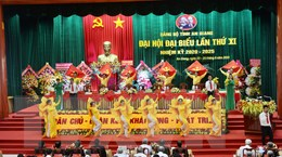 Hình ảnh khai mạc Đại hội đại biểu Đảng bộ tỉnh An Giang lần thứ XI
