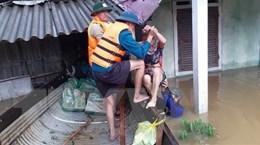 Điện thăm hỏi của lãnh đạo Lào và Thái Lan về lũ lụt tại miền Trung