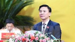 Ông Đỗ Trọng Hưng được bầu giữ chức Bí thư Tỉnh ủy Thanh Hóa