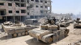 Anh, Mỹ thảo luận về phản ứng với vụ tấn công hóa học tại Syria