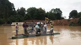 [Video] Lào chưa tìm thấy nhiều thi thể mất tích do vỡ đập thủy điện