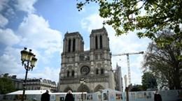 Pháp đóng cửa Quảng trường Nhà thờ Đức Bà do nồng độ chì cao