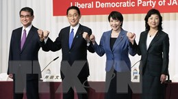 Kịch bản khó đoán trong cuộc bỏ phiếu bầu lãnh đạo mới ở Nhật Bản