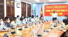 Quảng Bình cử đoàn công tác sang Lào hỗ trợ phòng, chống dịch COVID-19