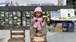 """Nhật Bản-Hàn Quốc tiếp tục tranh cãi về vấn đề """"phụ nữ mua vui"""""""