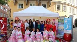 Đức: Dấu ấn Việt Nam tại Lễ hội đa văn hóa thành phố Augsburg