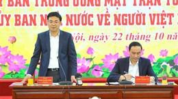 Tăng cường phối hợp hỗ trợ người Việt Nam ở nước ngoài