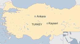 Nổ xe buýt chở binh sỹ Thổ Nhĩ Kỳ, đã có thương vong