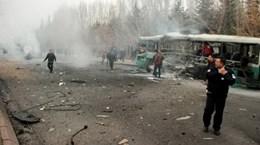 Hơn 60 người thương vong trong vụ đánh bom xe chở binh sỹ Thổ Nhĩ Kỳ