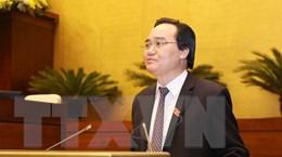 Bộ trưởng Phùng Xuân Nhạ giải trình việc tiếp thu ý kiến sửa đổi Luật